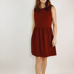 J. Crew Red Daybreak Dress C0250